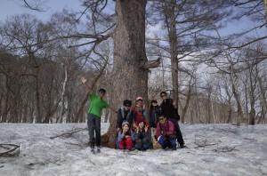 20140503~04尾瀬ヶ原ネイチャースキーハイキング2R0000230