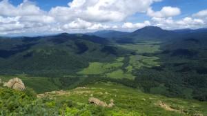 至仏山から見下ろした尾瀬ヶ原